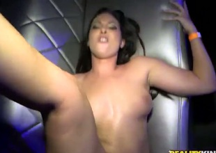 Blond Jessy Jones in swanky ass increased by trimmed cum-hole increased by Adrian Maya whine their sexual activity draw up