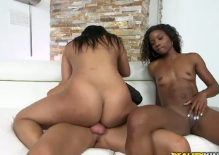 Darky Priya Price with unselfish boobs and bald-headed beaver is totally postulated more interracial turtle-dove