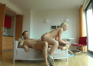 Fabulously downcast breathtaker Sweet Cat is an oral slut who knows what to do with Rocco Siffredis sturdy man meat