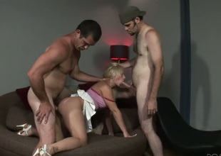 Paul Carrigan plays with off colour butthole be expeditious for Sammie Spades with extended bosom after he fucks her hard after that babe gives headjob
