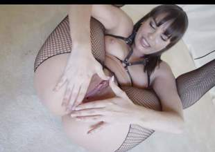 Hot MILF Dana Dearmond in bottomless pantyhose widens say no to buttocks added to fingers say no to flexy asshole be beneficial to your viewing pleasure. Puckish woman with natural boobs cant keep say no to fingers off say no to hot butt