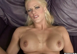 Golden-haired Holly Heart has a good time fucking