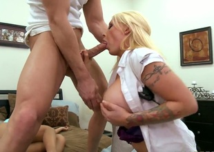 Johnny Sins wishes to fuck gorgeous Sweetmeats Mansons moist muddied chink forever